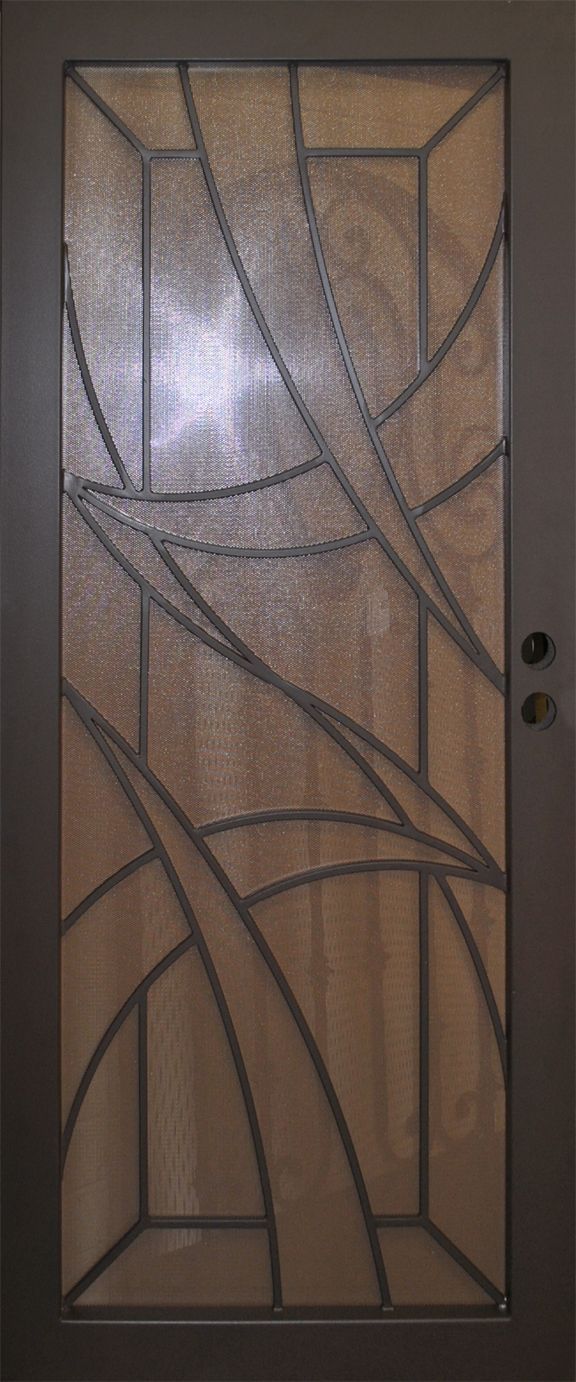 Wrought iron security door sd element iron pinterest