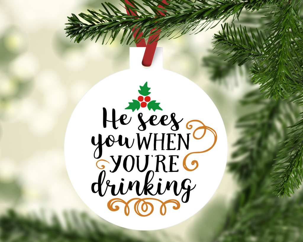 Funny Drinking Ornament | Christmas Ornaments | Pinterest ...