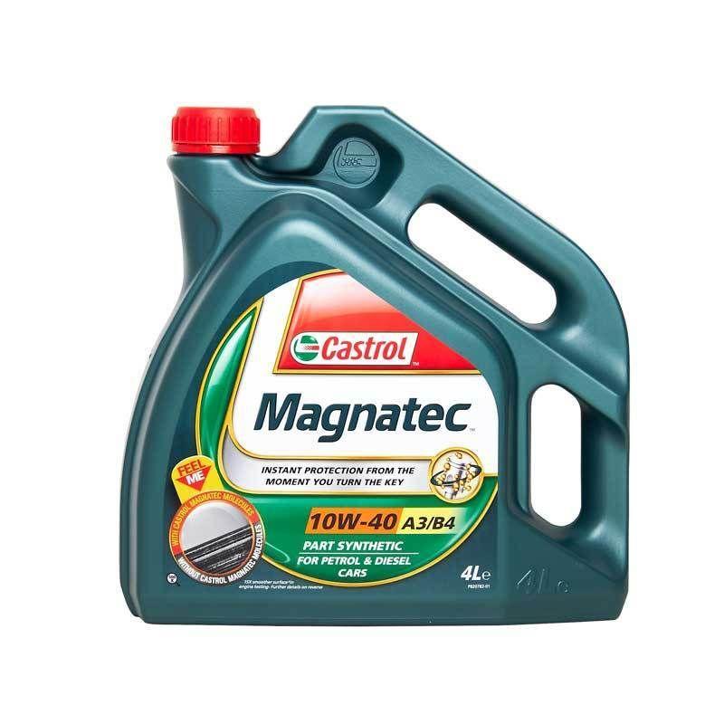 Castrol Magnatec 10w40 Part Synthetic Car Engine Oil 4l 4 Litre Diesel Petrol Diesel Fiat Oils