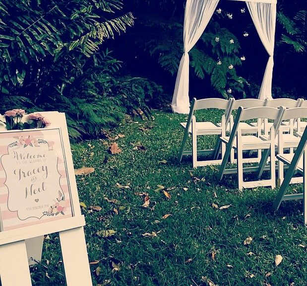 Brisbane City Botanic Gardens Wedding By Decorators At Rainforest Hideaway We Are So In
