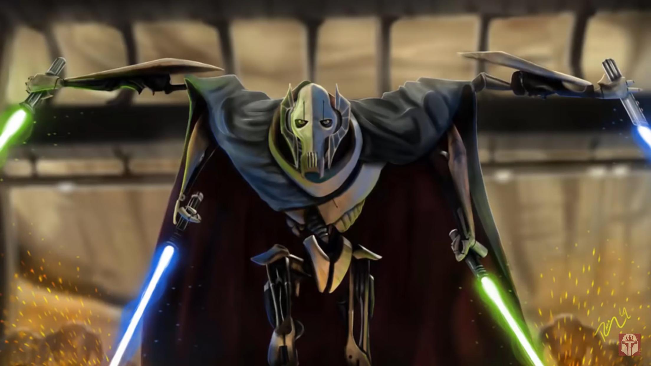 General Grievous Star Wars Geek Star Wars Poster Star Wars Characters