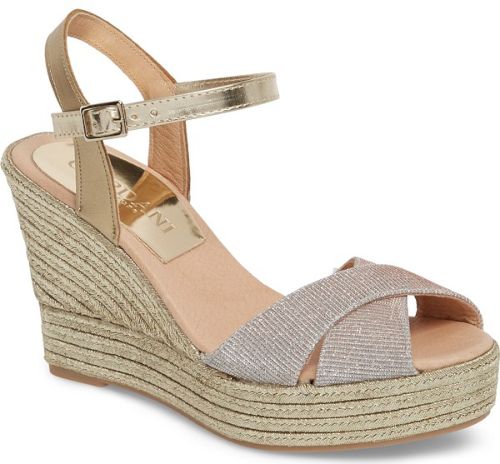 bea4cfaac5f Cordani Harem Espadrille Wedge Sandal in Pink. Elevate your style with this  glam