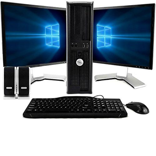 Dell Optiplex 780 Desktop Core 2 Duo Ram Hdd Home Windows 10 Twin Monitor Pc Package Deal Computer Systems Are Well Known For His Or Her Ene