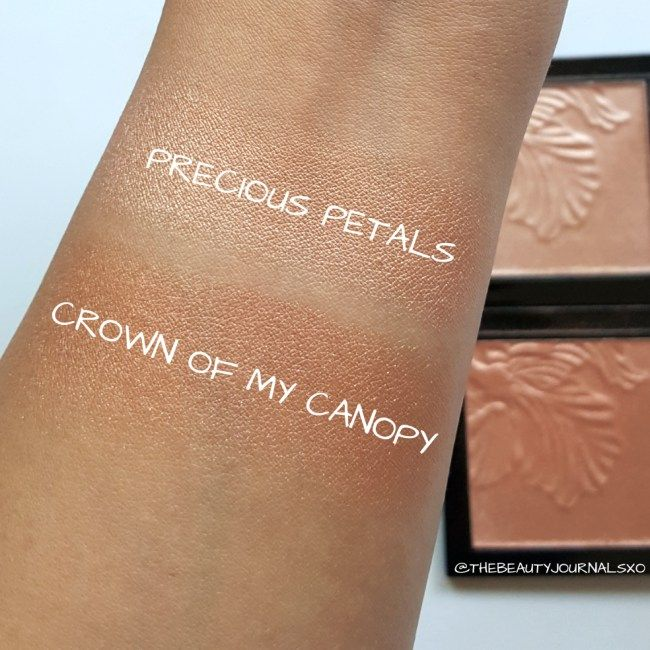 Wet n Wild MegaGlo Highlighting Powder Swatches in Precious Petals and  Crown of My Canopy | Wet n wild, Wet n wild highlighter, Highlighter  swatches