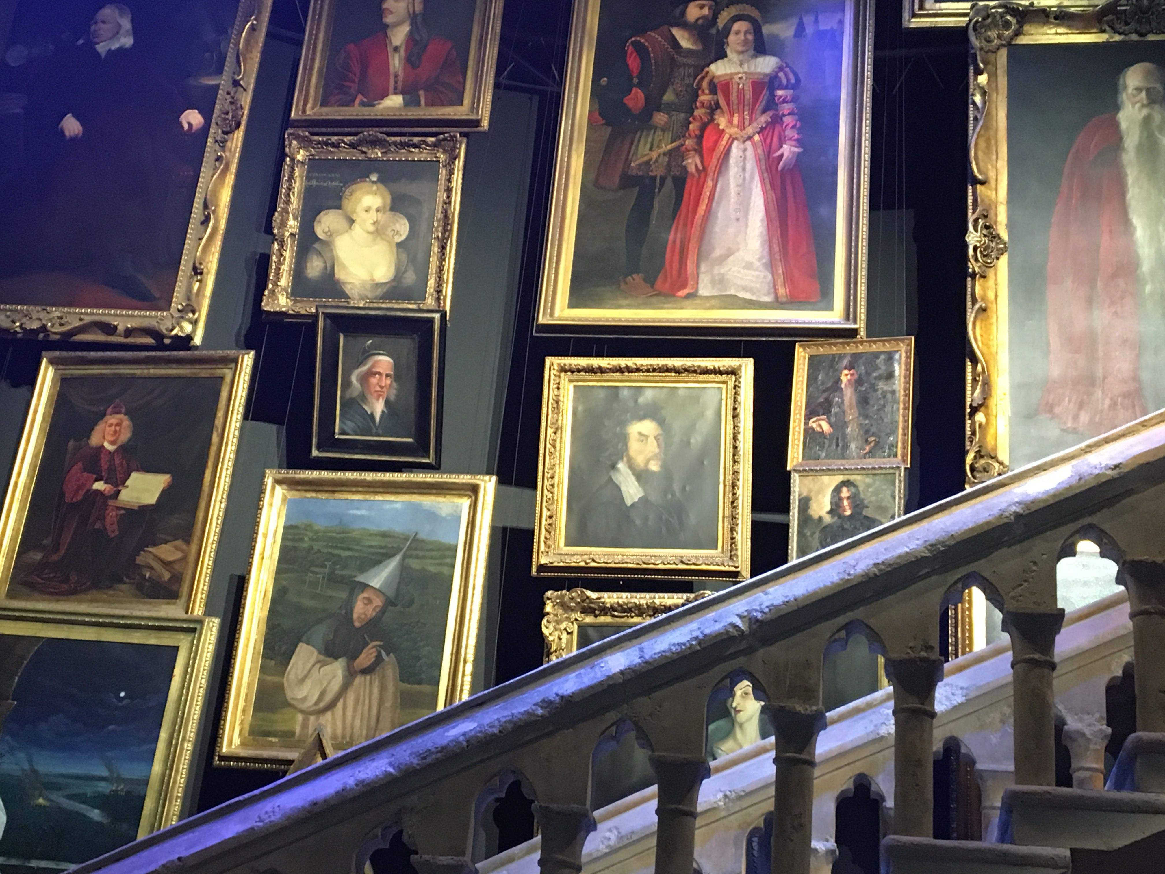 Some of the magical hogwarts portraits Gallery wall