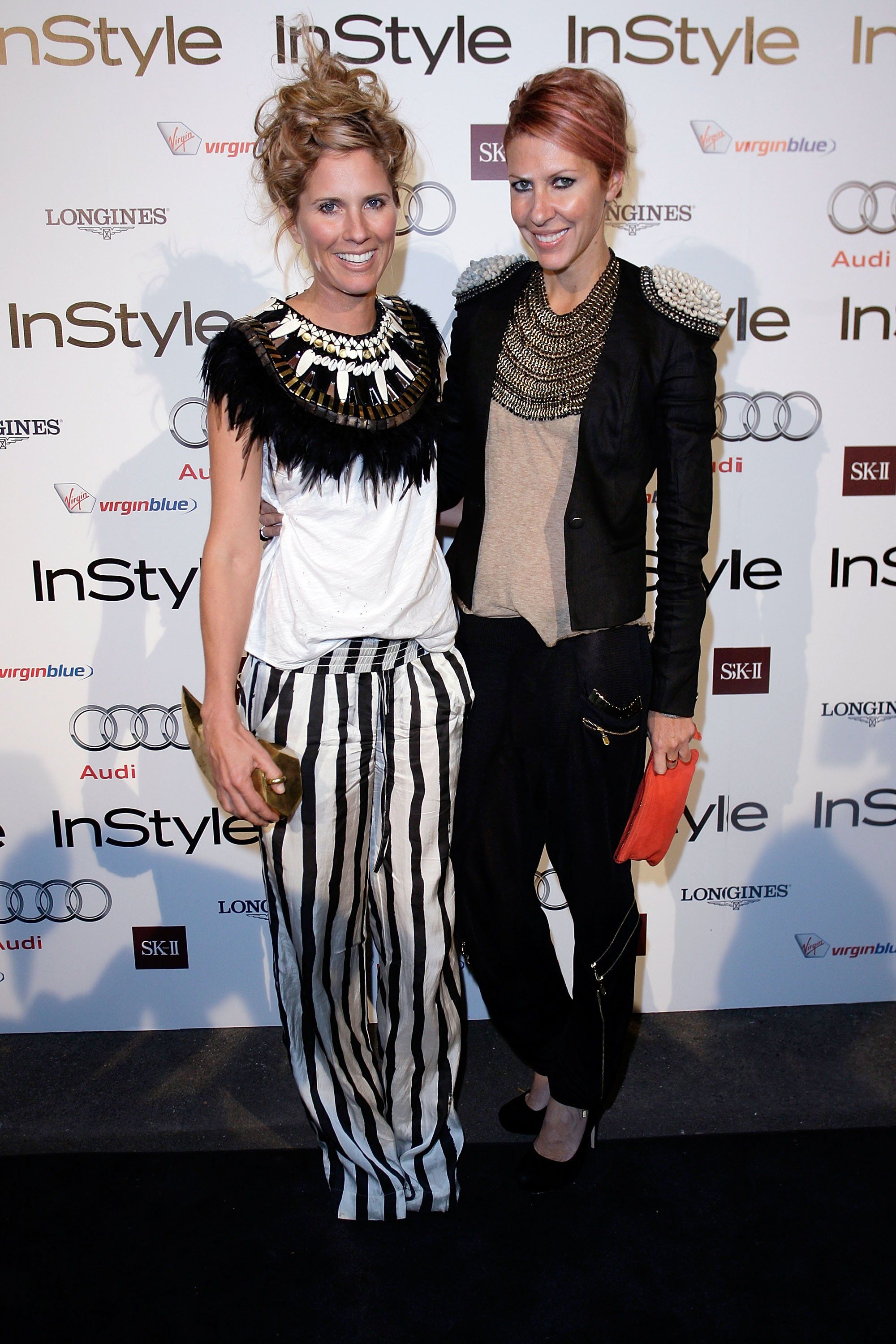 Sarah-Jane Clarke and Heidi Middleton at the 2010 InStyle and Audi Women of…