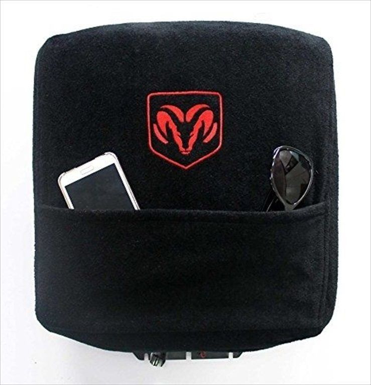 2004 2014 Dodge Ram 1500 2500 3500 Center Console Cover Wth Rams Head Logo New Dodge Ram Dodge Ram
