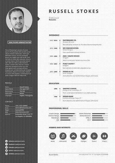 Nobelist Chronological Resume Resume Layout Resume