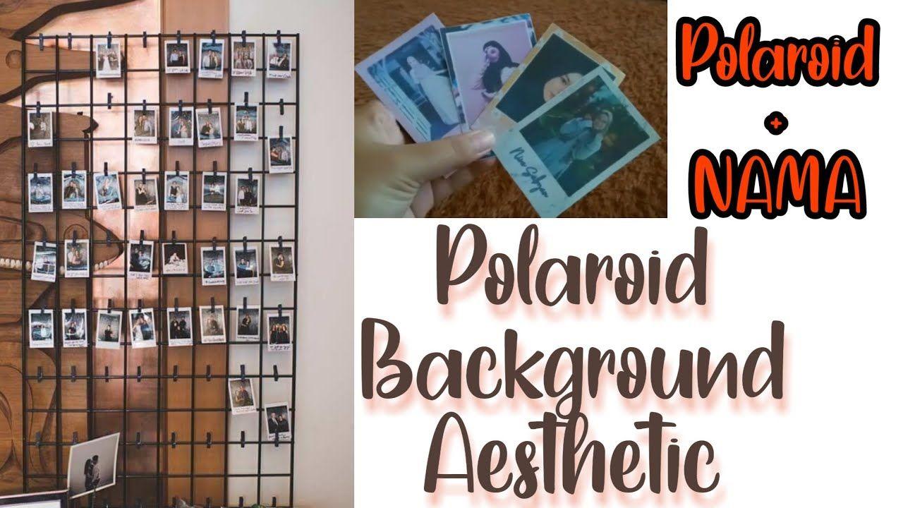 Cara Membuat Polaroid Sendiri Ada Hiasan Nama Polaroid Nama Membuat Polaroid Hiasan Nama