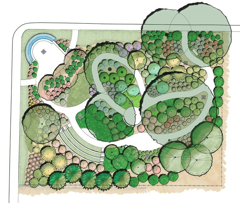 Natural Park Plan ค นหาด วย Google Landscape Design Drawings Landscape Plans Parking Design