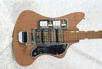 Over Easy Coffee Black Please Vintage 1963 Teisco Sd 4l Electric