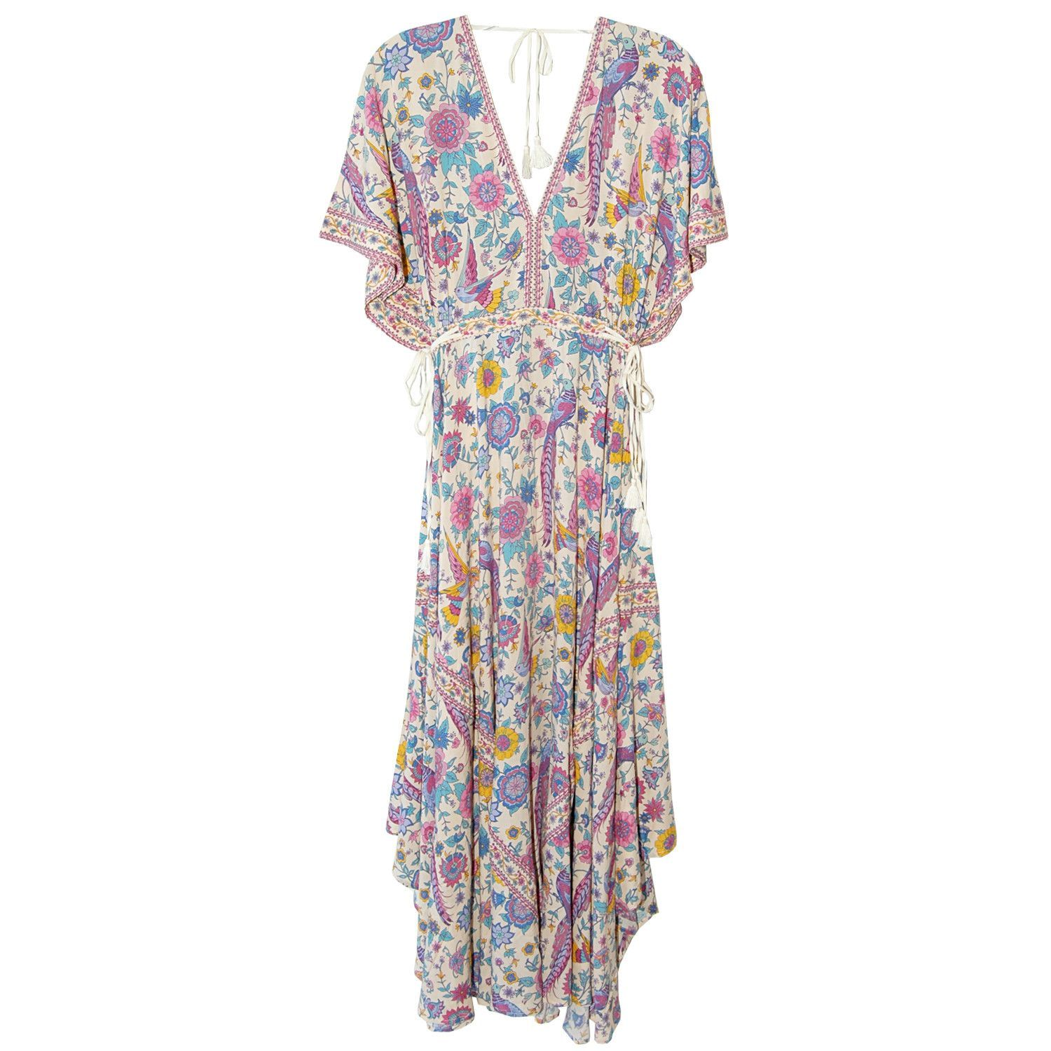 e14c08d99ee0 Spell & The Gypsy Collective Lovebird Half Moon Gown in Chamomile ...