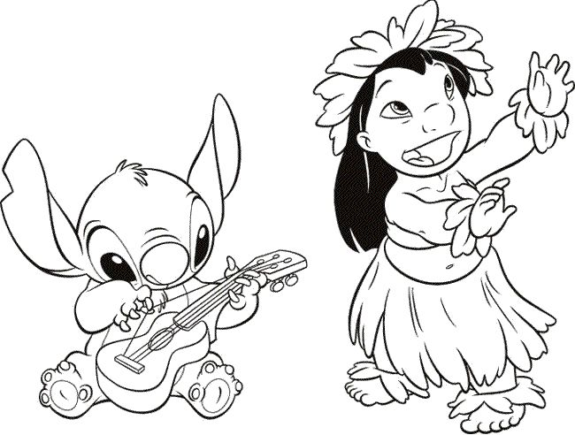 Adorable Lilo And Stitch Line Drawing This Would Be Such A Cute Tattoo Maleboger Disney Tatoveringsideer