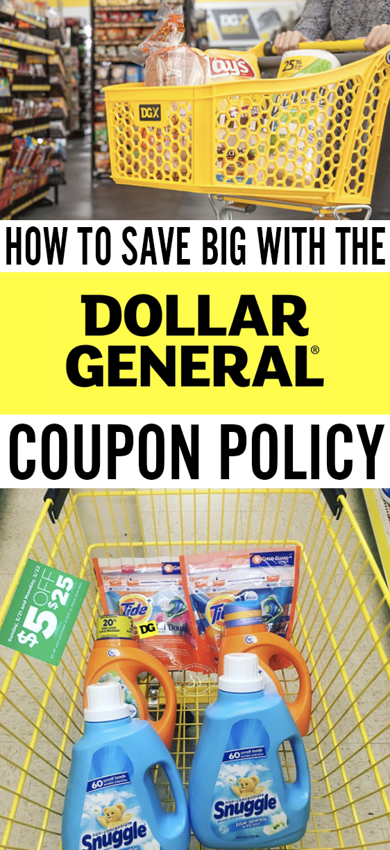 Dollar General Coupon Policy: 9 Things You Need To Know (Plus a Few Hacks Too!) #couponing