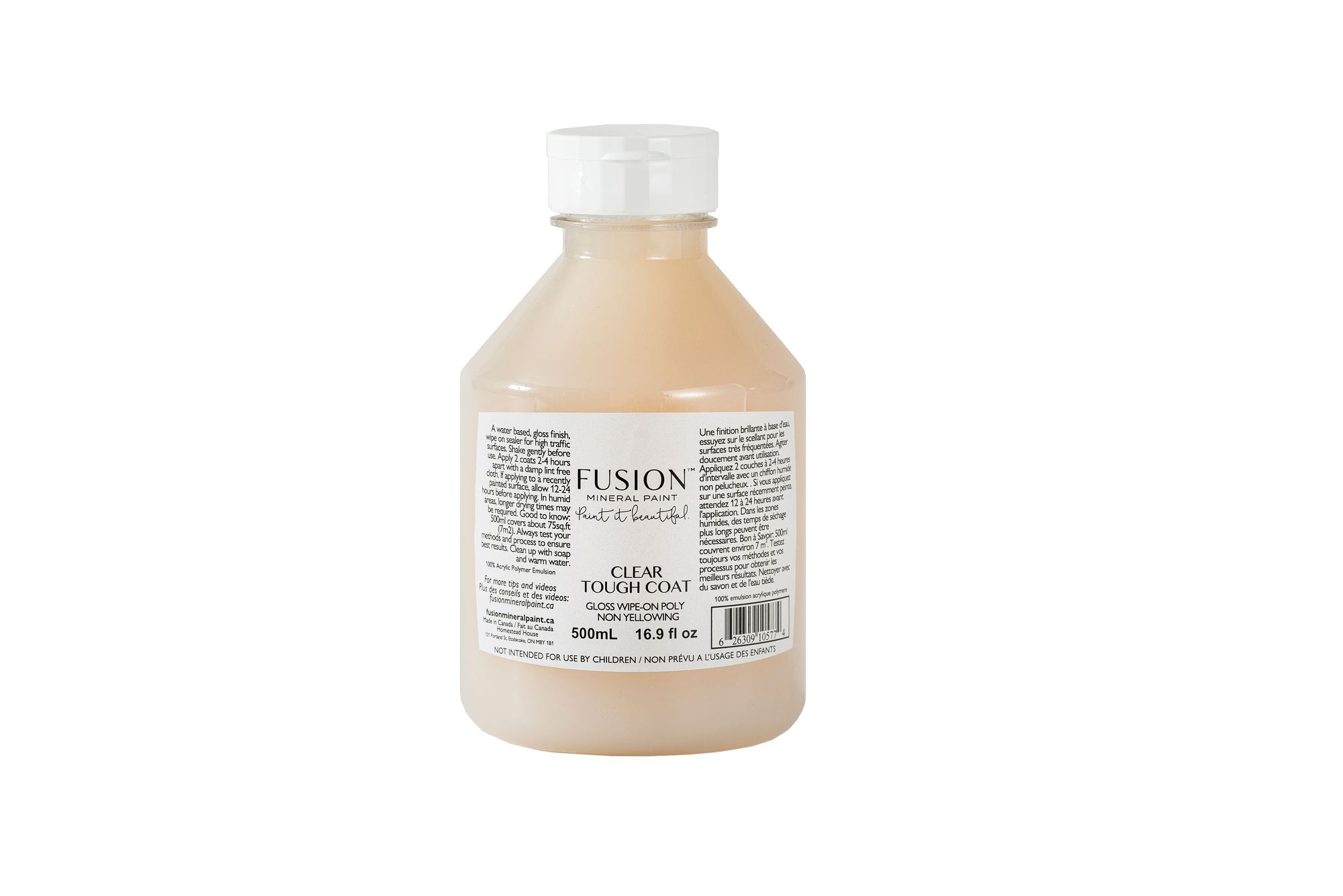 Clear Matte Tough Coat 500ml By Fusion Beautifully Reimagined Austin Tx In 2020 Fusion Mineral Paint Fusion Paint Mineral Paint