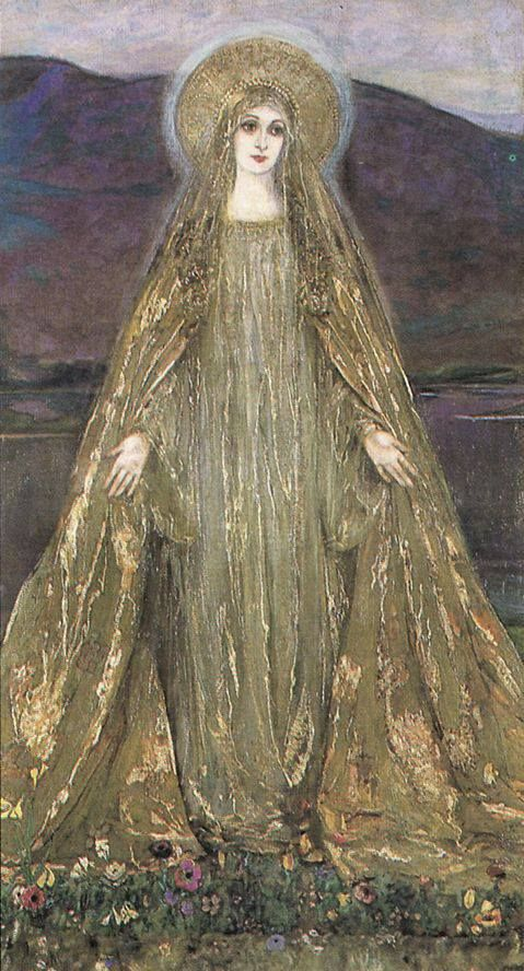 Mary - golden