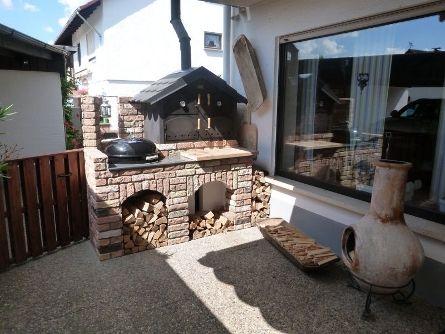 Außenküche Mit Holzbackofen : Außenküche mit holzbackofen grillforum und bbq