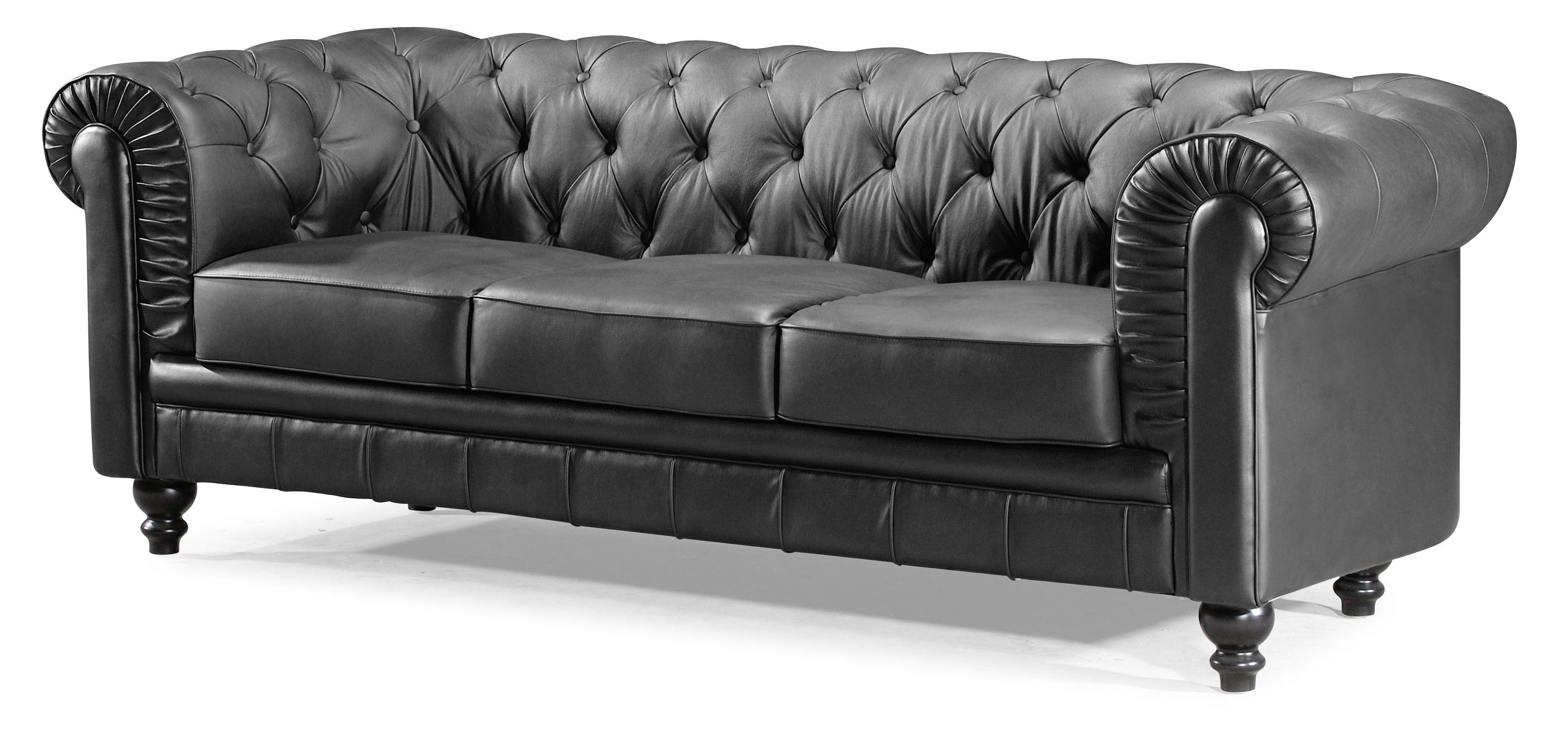 Nice Aristocrat Sofa Black