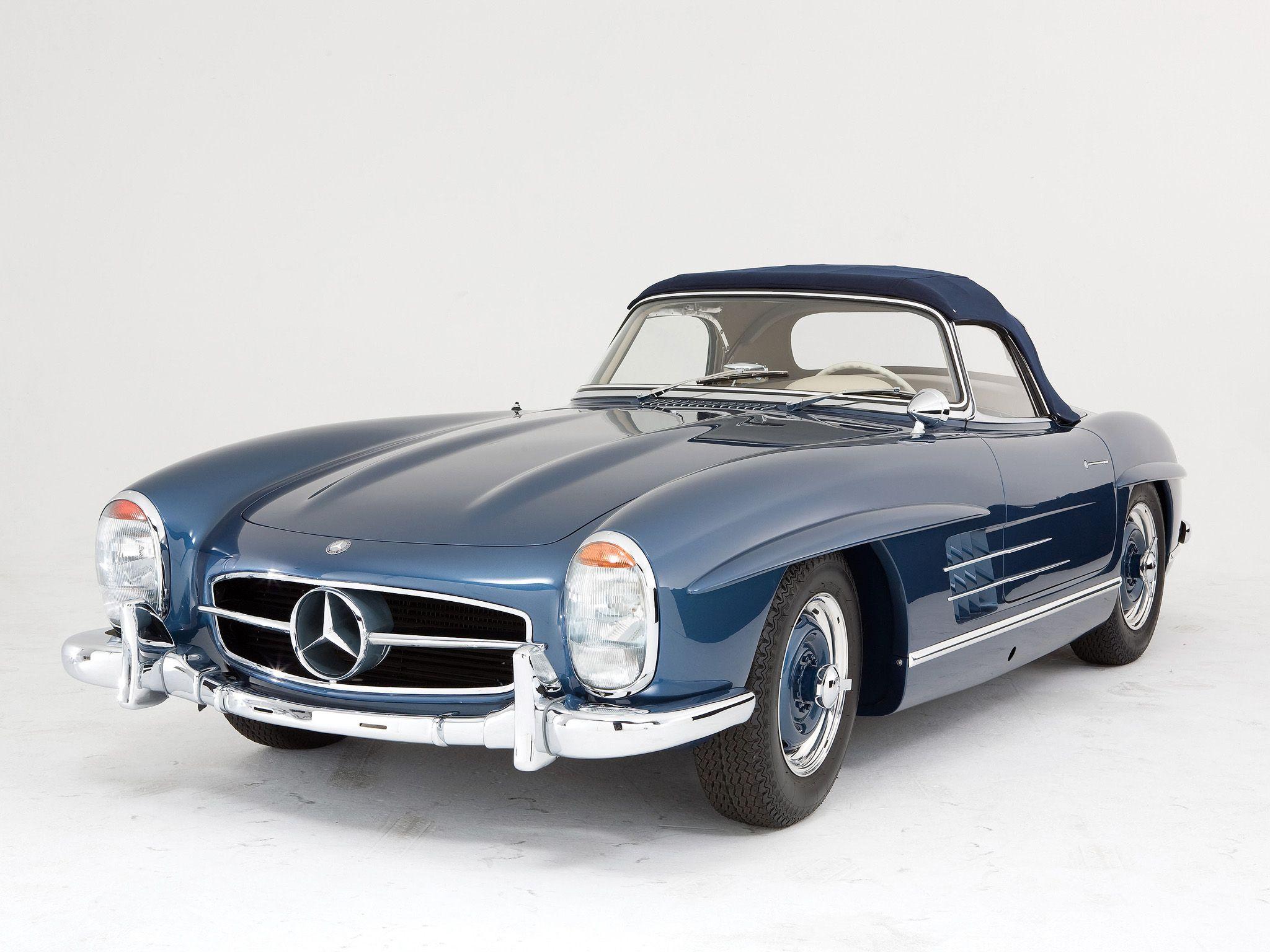 1957 Mercedes Benz 300sl R198 Retro G Wallpaper 2048x1536 105985 Wallpaperup Mercedes Benz 300 Mercedes Daimler Benz