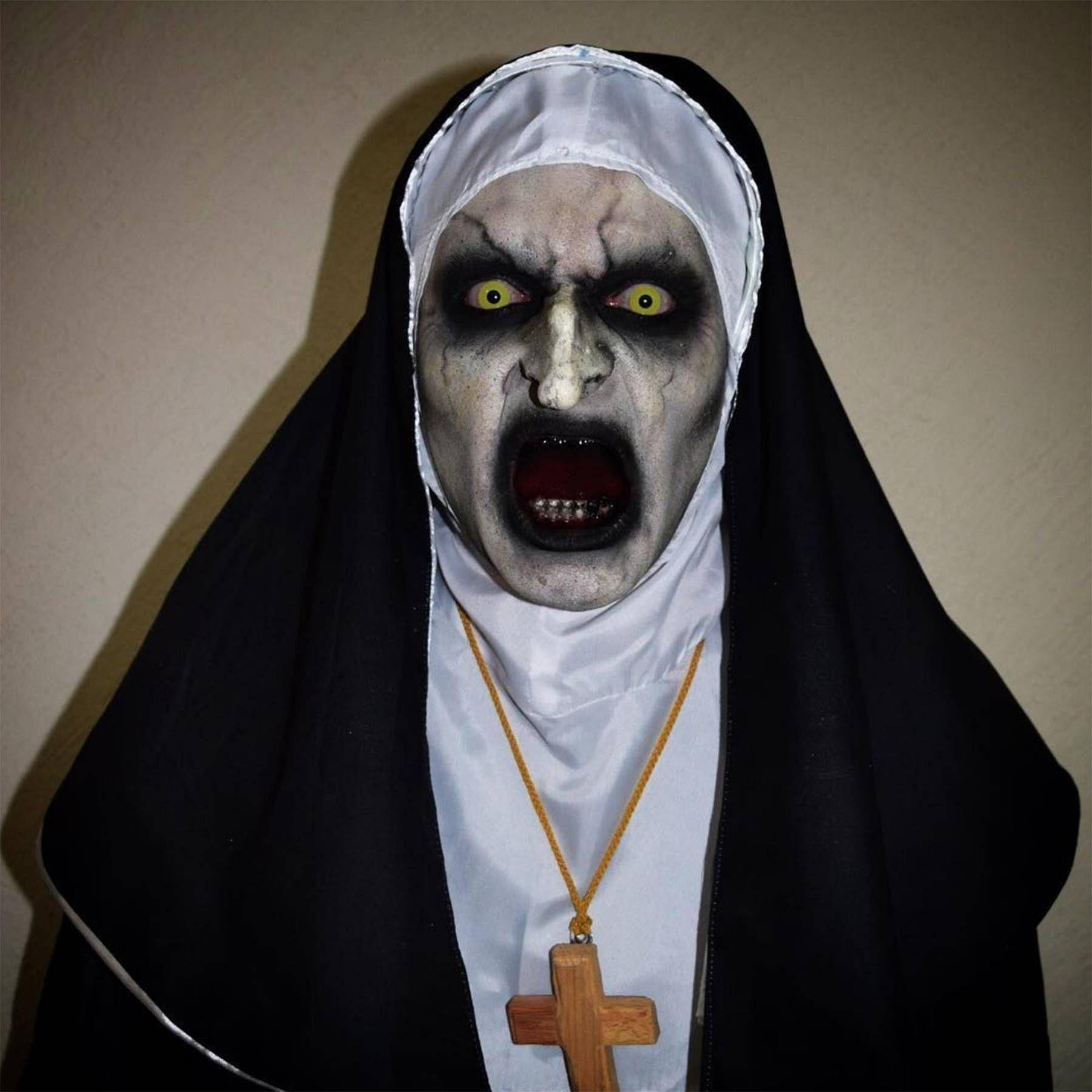 The Nun Vs Halloween 2020 The creepiest Halloween makeup looks of 2020 (including a