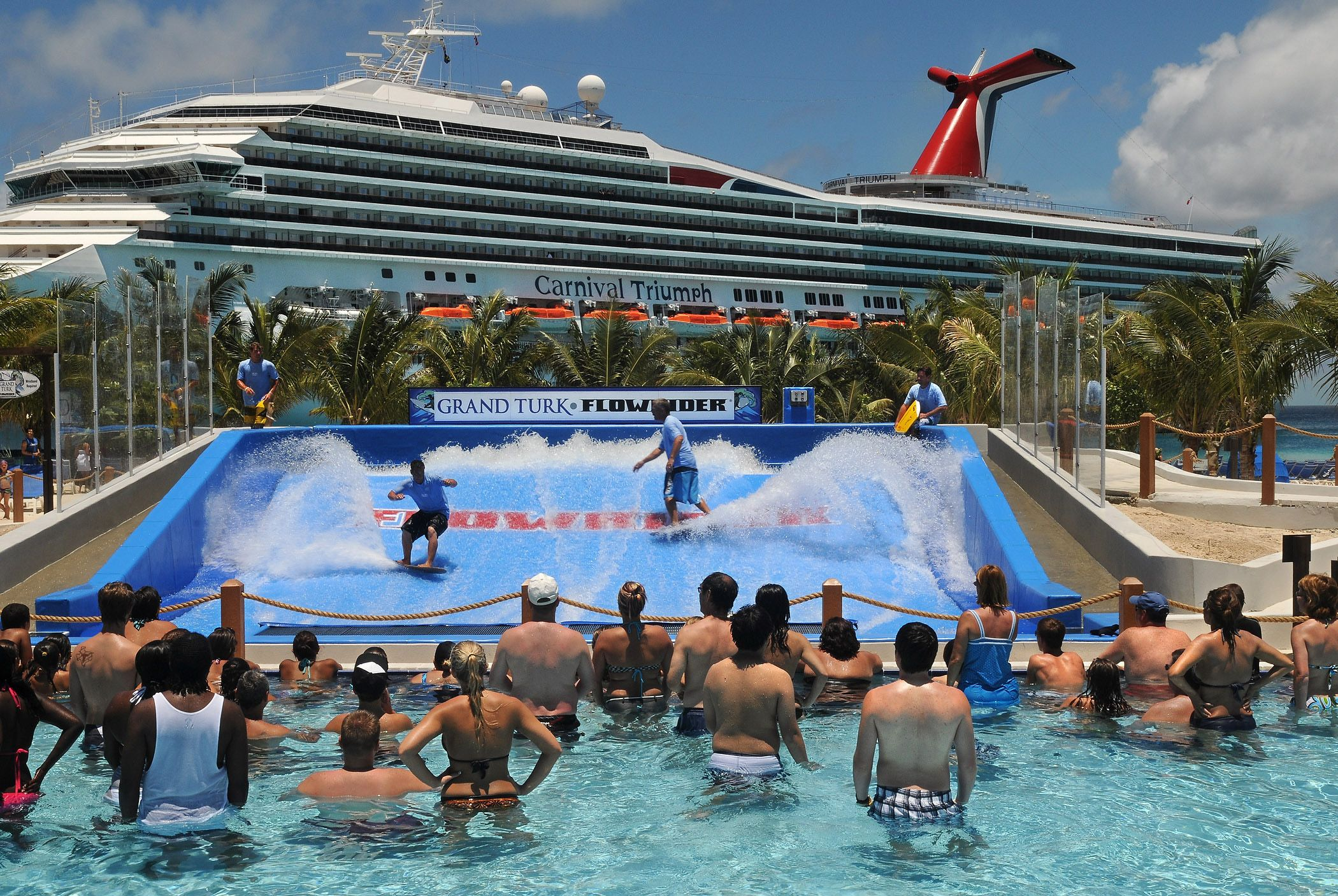 Caribbean weddings grand turk - Grand Turk Island The Attraction The Only One Of Its Kind At A Cruise