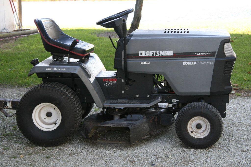 Craftsman Lawn Mower Belts : Craftsman riding lawn mower belt diagram yard lanscaping