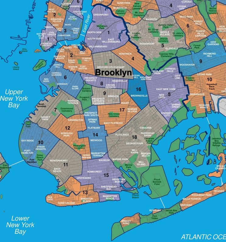 map of manhattan and brooklyn neighborhoods Map Of Brooklyn Neighborhoods Brooklyn Neighborhoods Map Of New map of manhattan and brooklyn neighborhoods