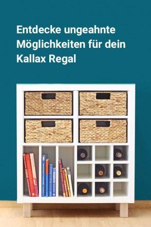 Exklusives Zubehor Fur Das Ikea Kallax Regal Mobel Hacks Pinterest