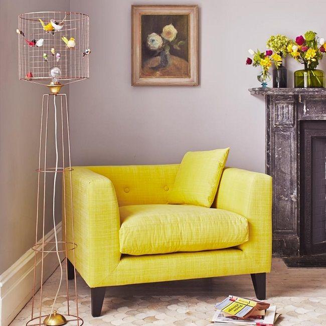 yellow living room ideas, lounge armchair | HOME INTERIOR DESIGN ...