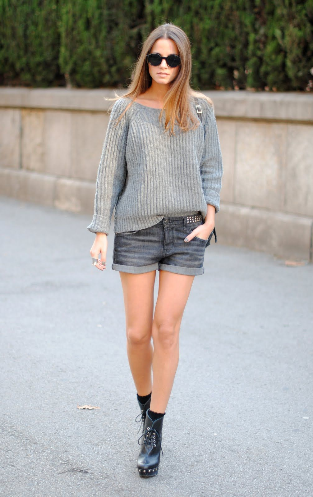 17 Best images about Sweaters shorts boots! on Pinterest