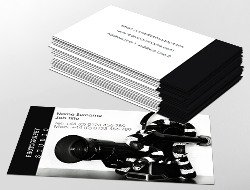 Contemporary business card design ideal for independent contemporary business card design ideal for independent photographers customise a range of business card flashek Choice Image