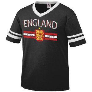 England Crest International Soccer Ringer T-shirt, English Soccer Mens Ringer T-shirt (Apparel)  http://macaronflavors.com/amazonimage.php?p=B003PVK0KG  B003PVK0KG