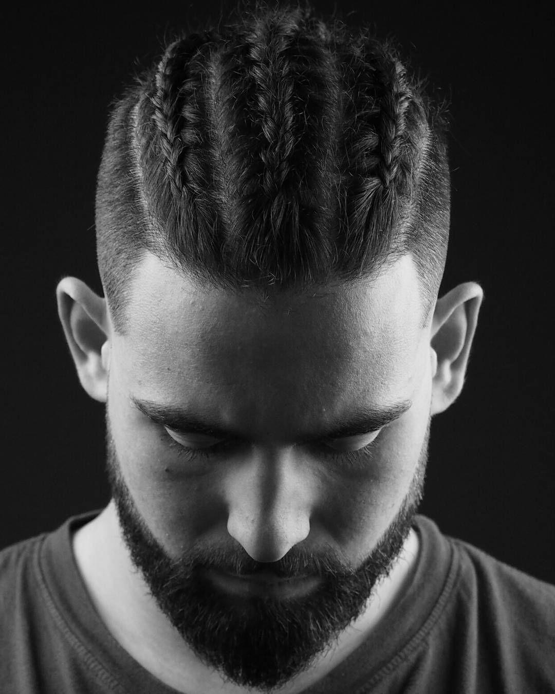 White Mens Braided Hairstyles