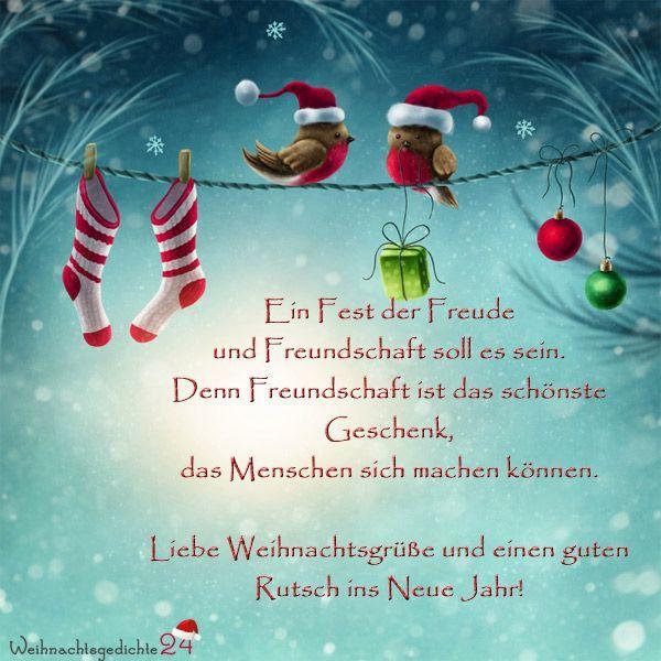 Weihnachtsgrüße Whatsapp Text