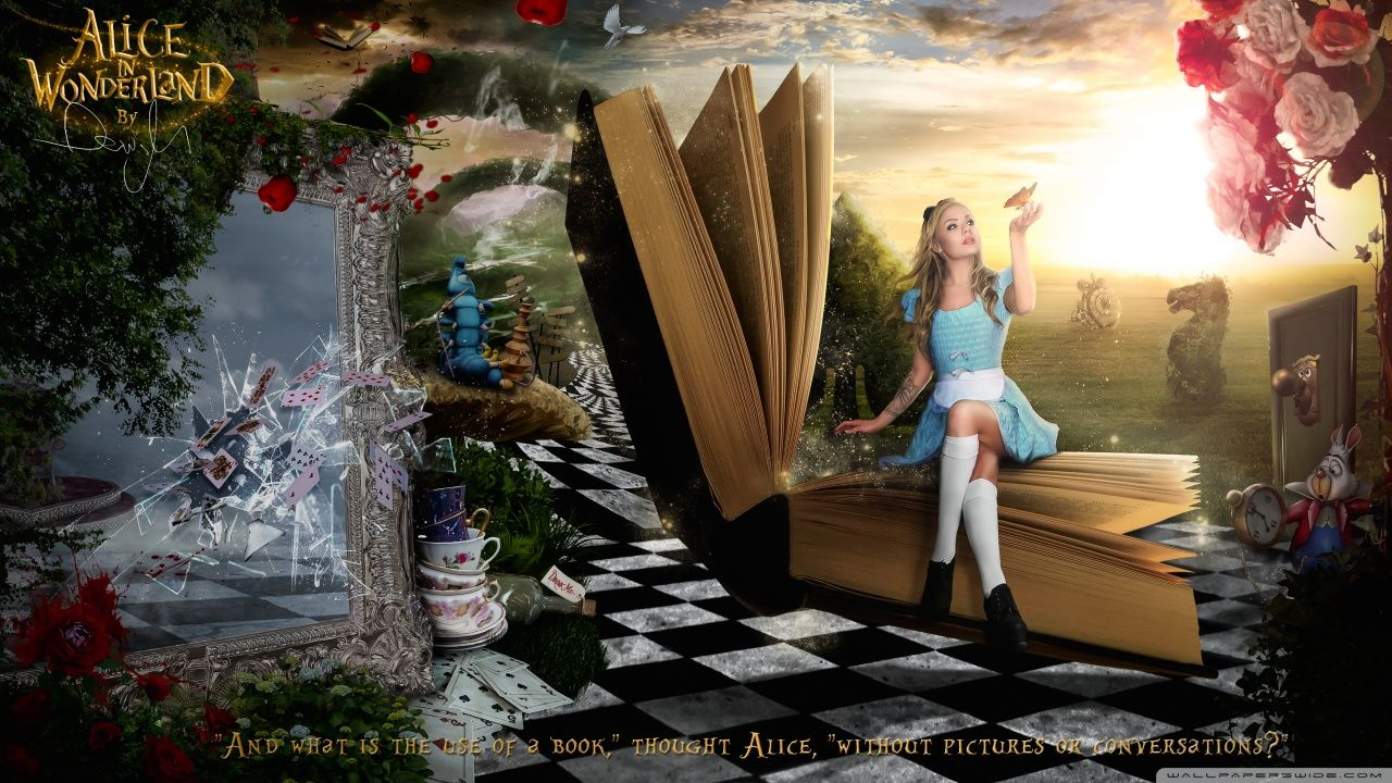 Alice in Wonderland HD desktop wallpaper High Definition