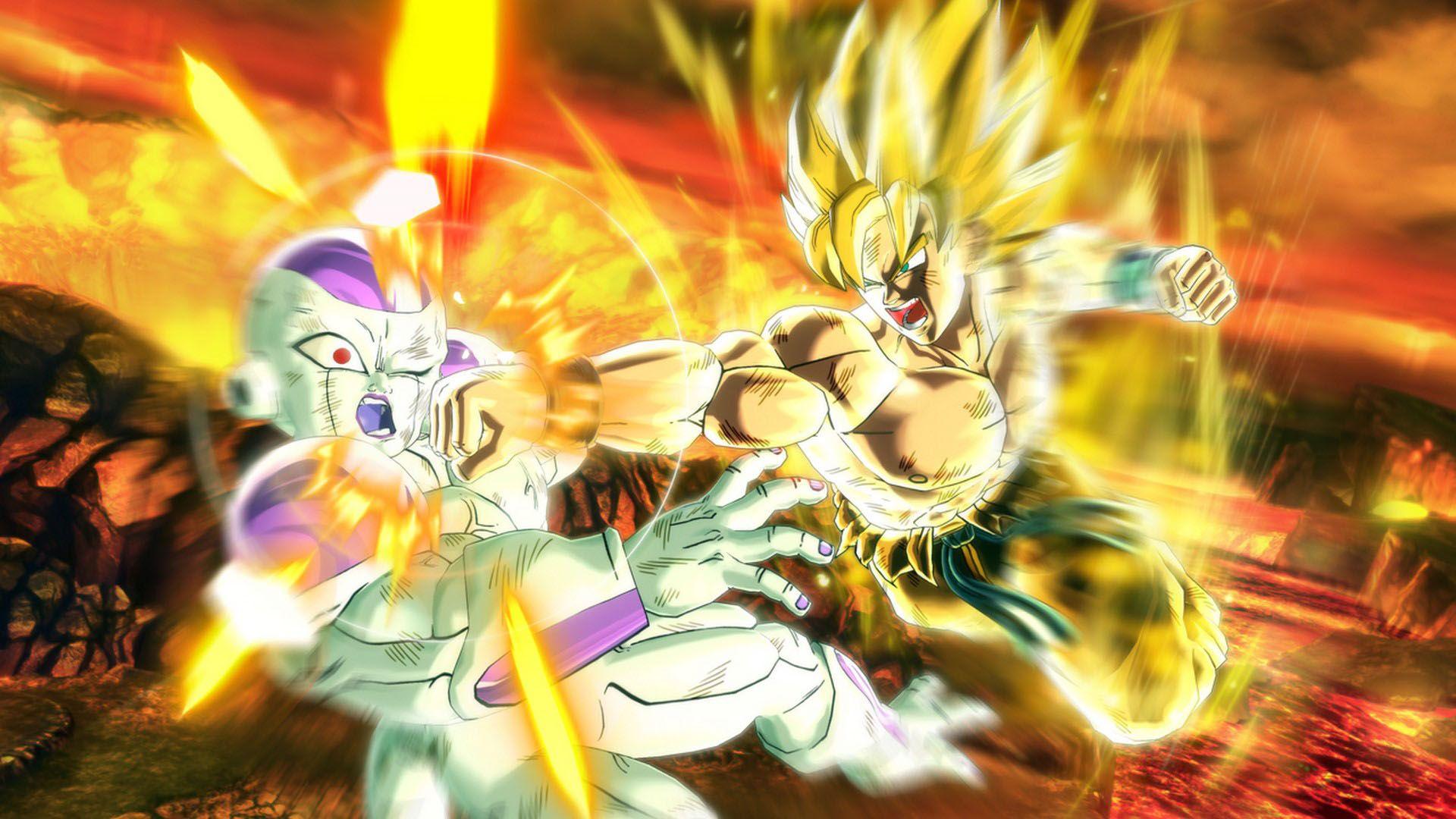 10df4670 Goku Super Saiyan 2 Dragon Ball Xenoverse | Wallpaper HD 1080p ...