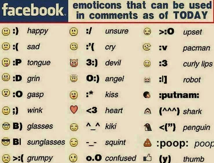 Emoticons Just For Fun Pinterest