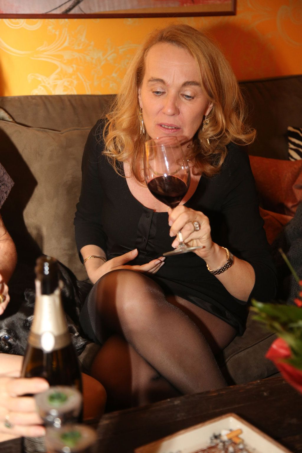 Simply alcohol in pantyhose blonde consider, that