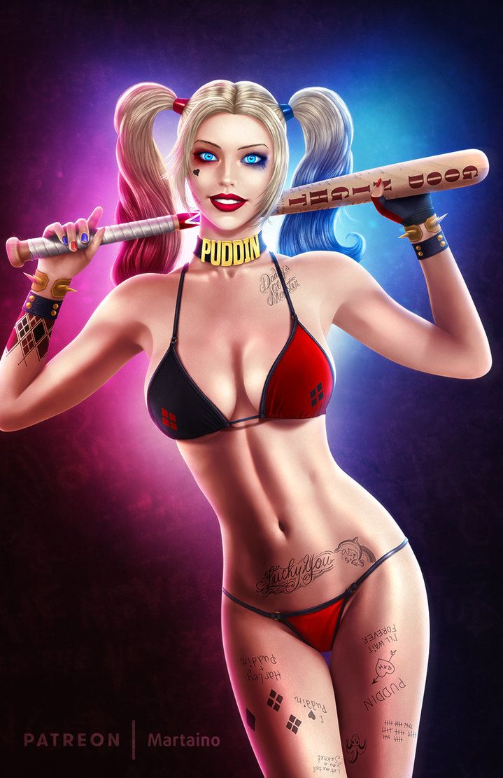 Pin de linwood hamilton em Harley Quinn | Harley Quinn ...