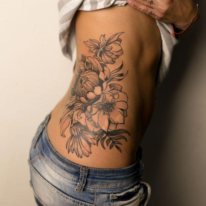 Yuri Mitin Stomach Tattoos Women Waist Tattoos Back Tattoo Women