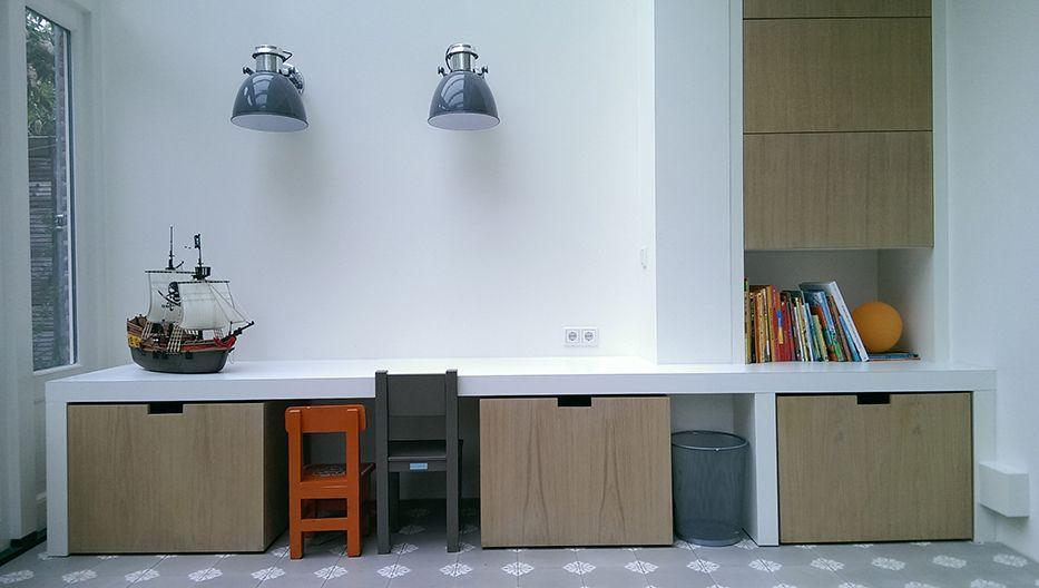 woonkamer inspiratie stylvolle kinderhoek in woonkamer