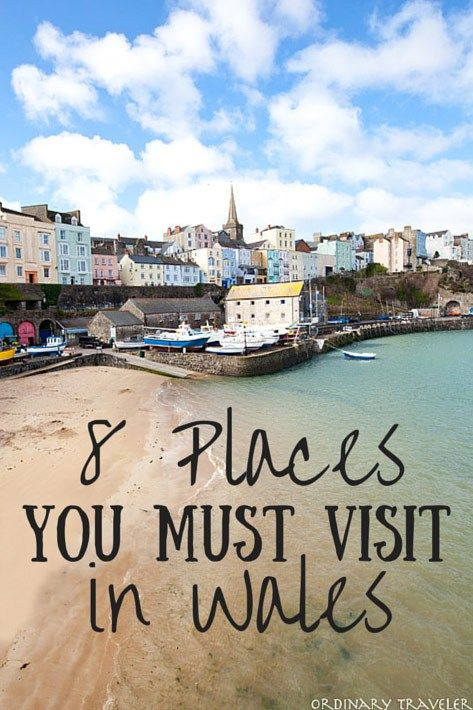 8 Must-See Places to Visit in Wales (And Where to Stay!) #visitwales