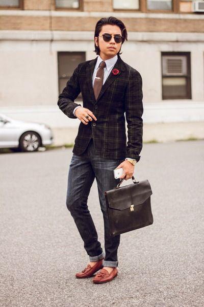 shoes on blazer