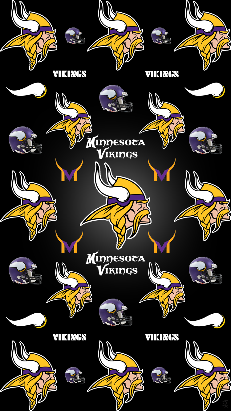 Minnesota Vikings NFL Fleece Fabric 6457 D