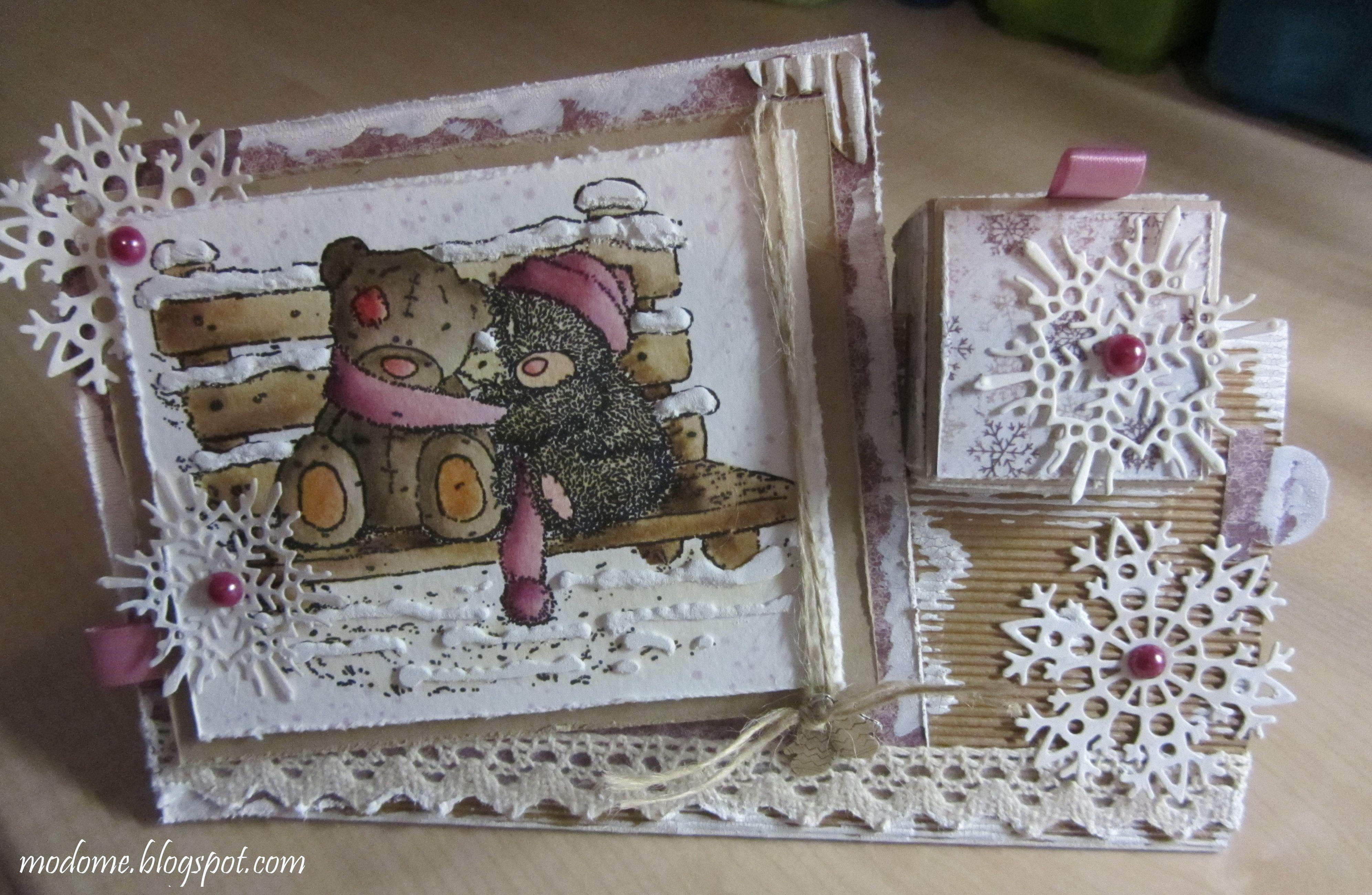 Päcklikarte http://modome.blogspot.ch/2013/12/ganz-spontan.html