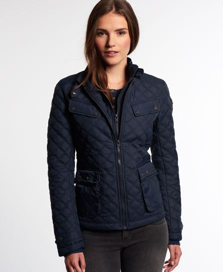 Superdry Hooded Winter Windtrekker Jacket | осень,зима | Pinterest ... : quilted ladies coat - Adamdwight.com