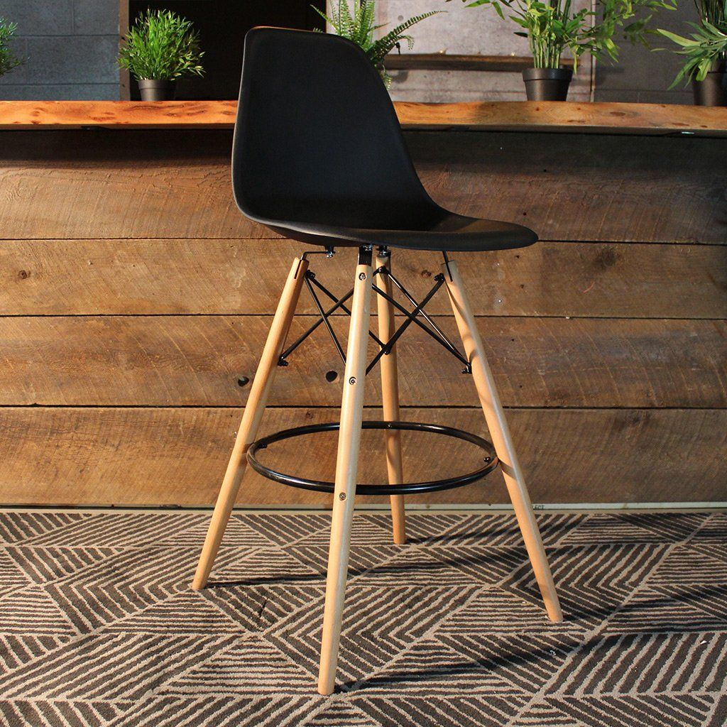 Charles Eames Style Eiffel Leg Bar Stool 27 Bar Stools Stool