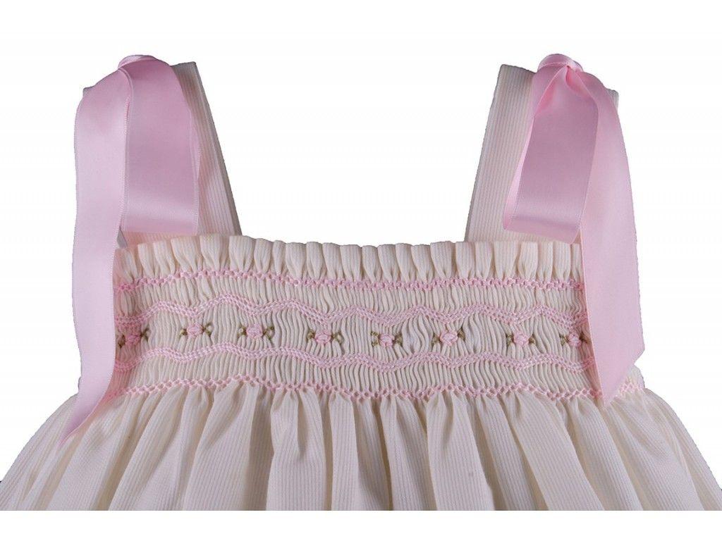 Como hacer un vestido con punto smock