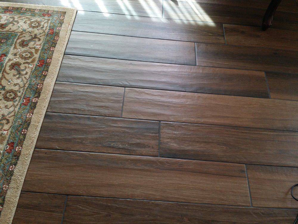 Faux Wood Tiles Porcelain Tile
