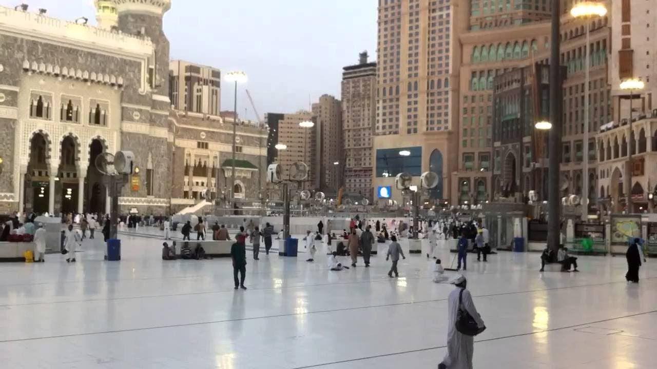 الحرم المكى الشريف باب الملك فهد من الخارج Street View Scenes Views